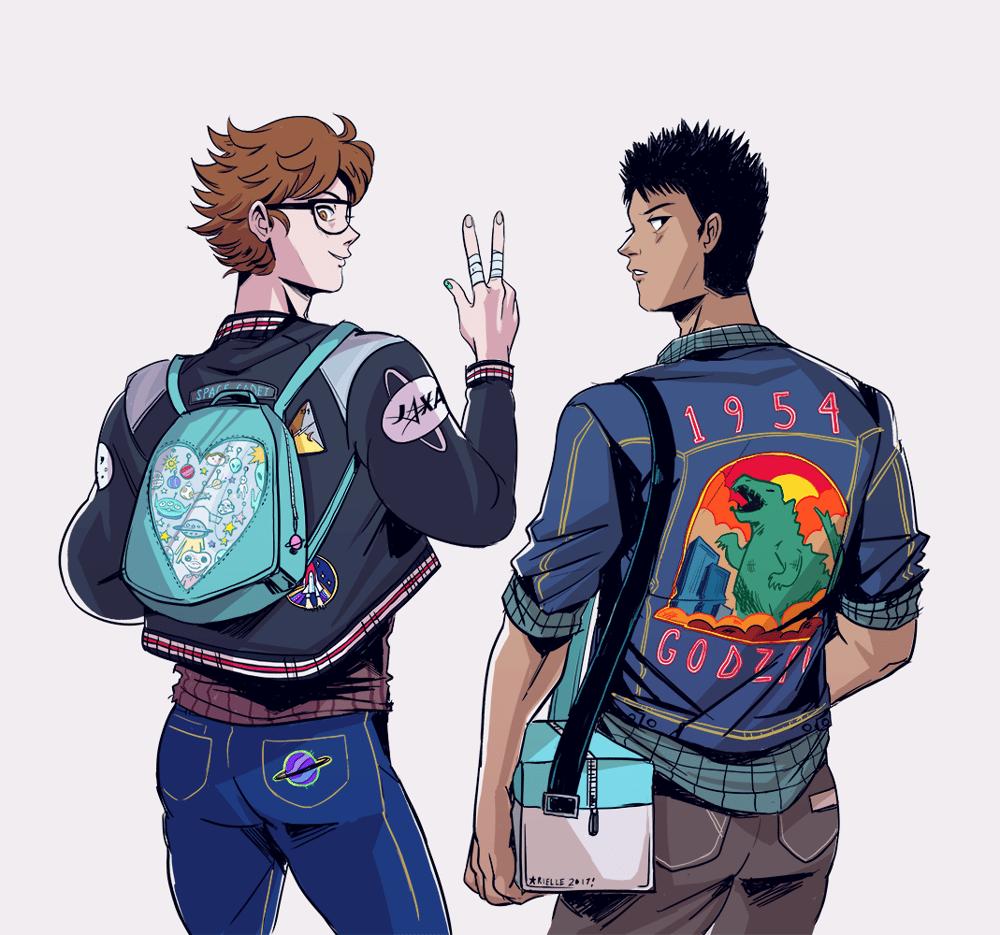 Image of Seijou Jacket Boys Print