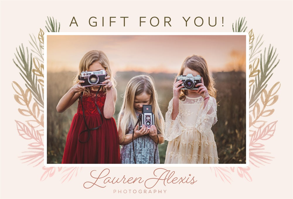 Image of Lauren Alexis Photography Gift Certificates
