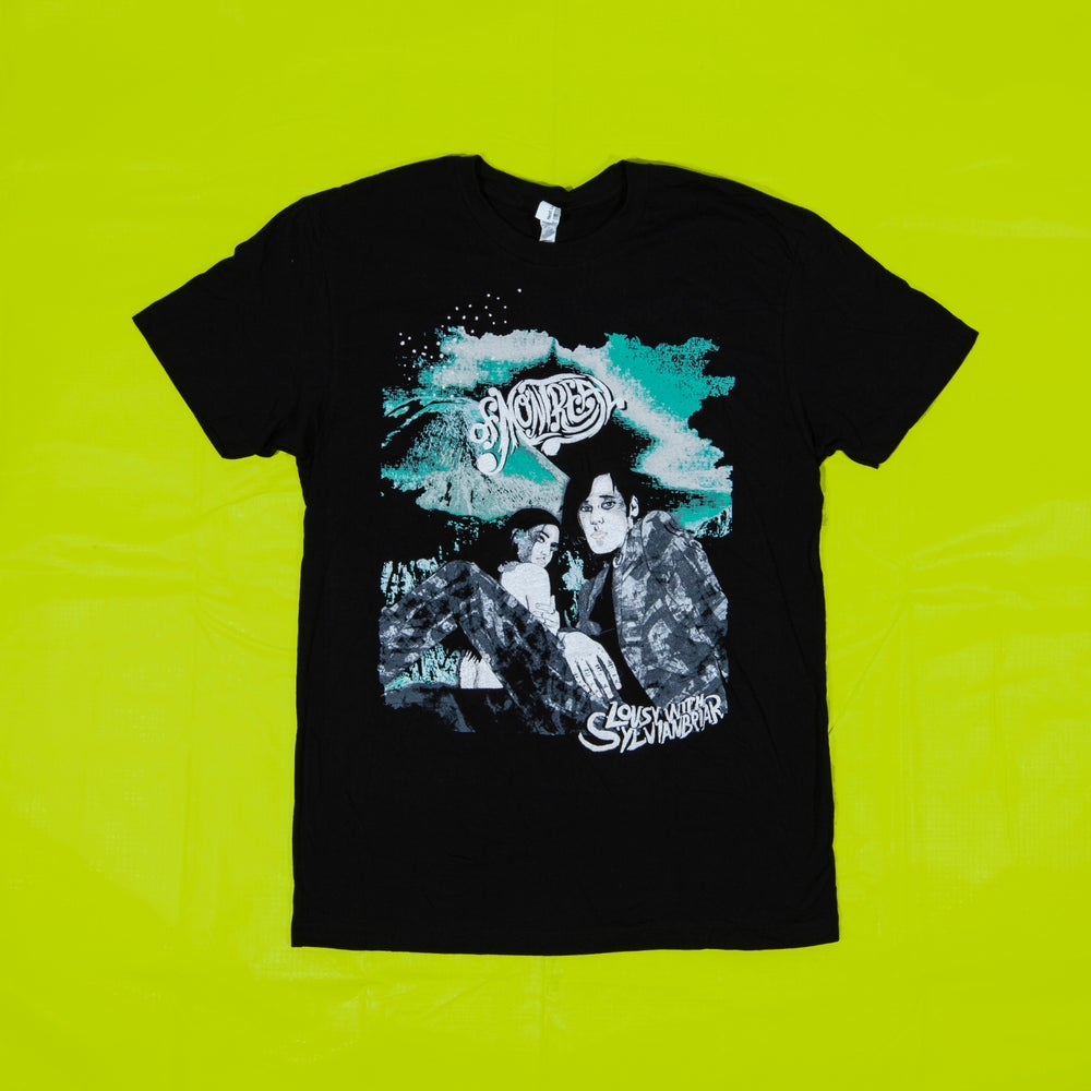Image of Lousy With Sylvianbriar T-Shirt (Black)