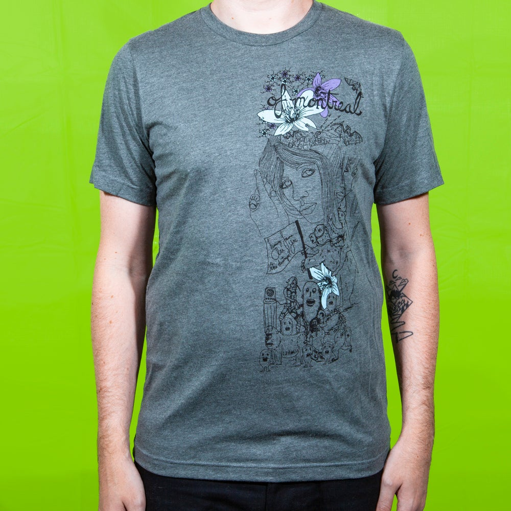 Image of Destroyer T-Shirt (Deep Heather)
