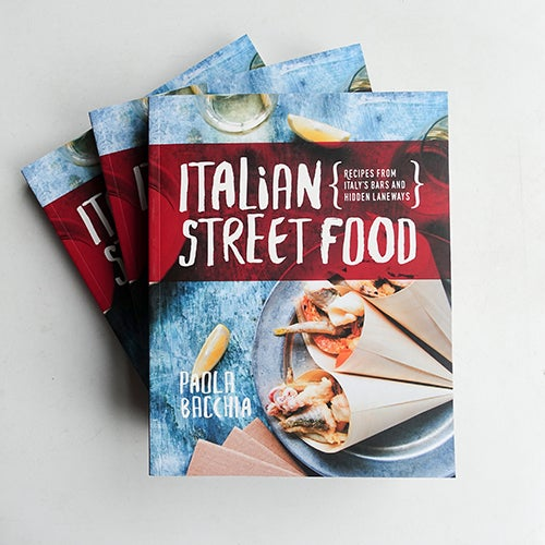 Image of Italian Street Food - cookbook - paperback
