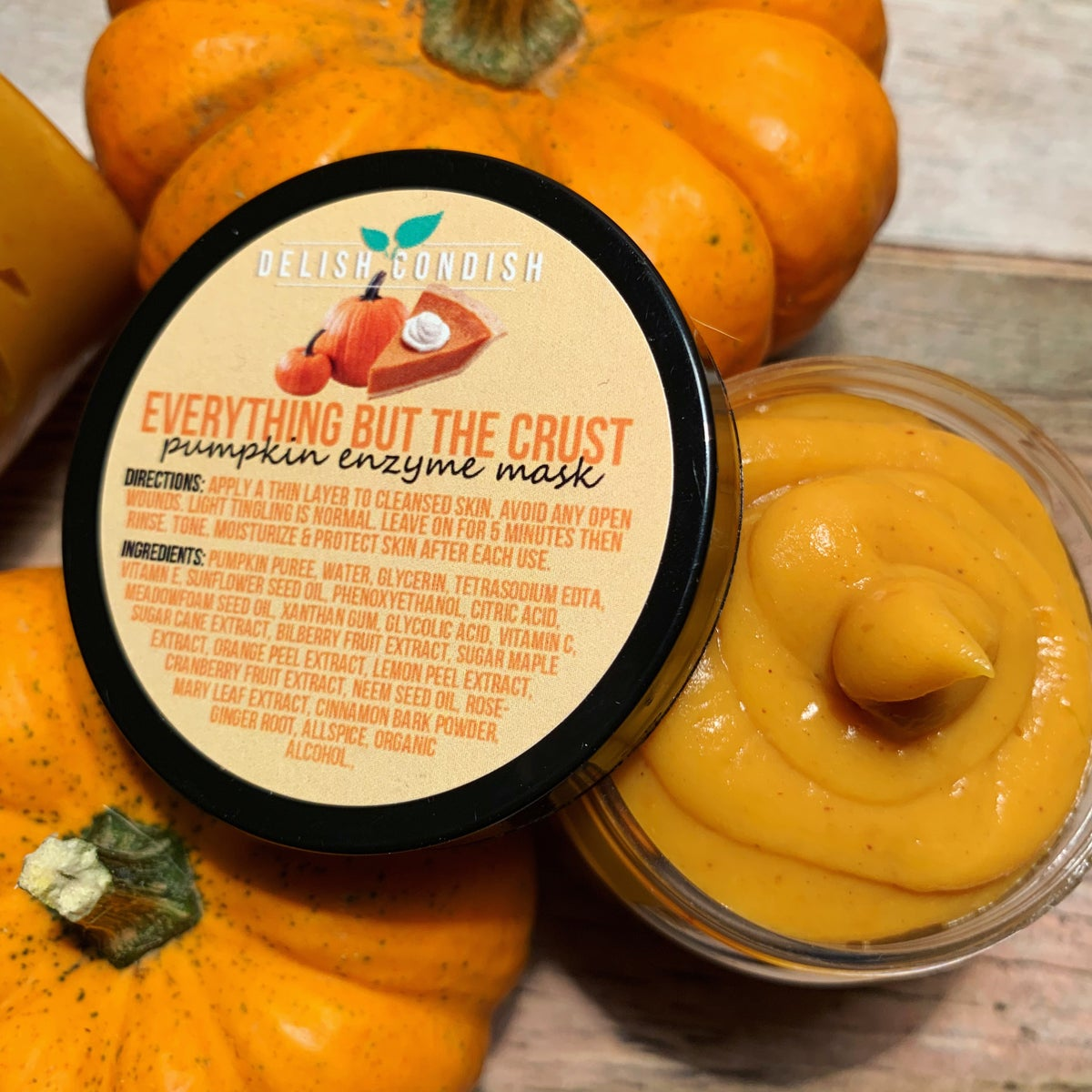 Image of Everything But The Crust Pumpkin Mask