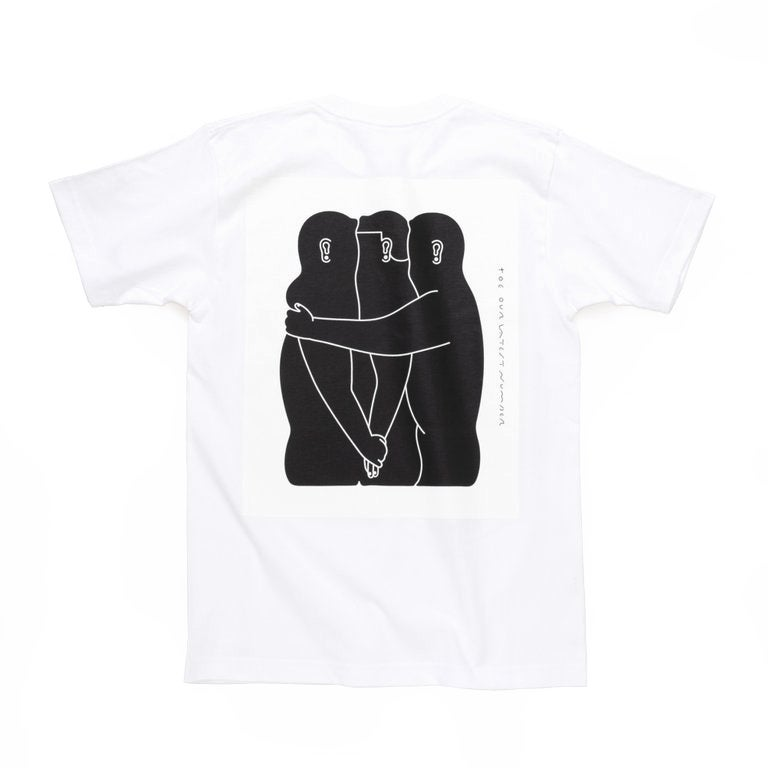 Image of 'Title' T-Shirt - White<br>*Pre-order