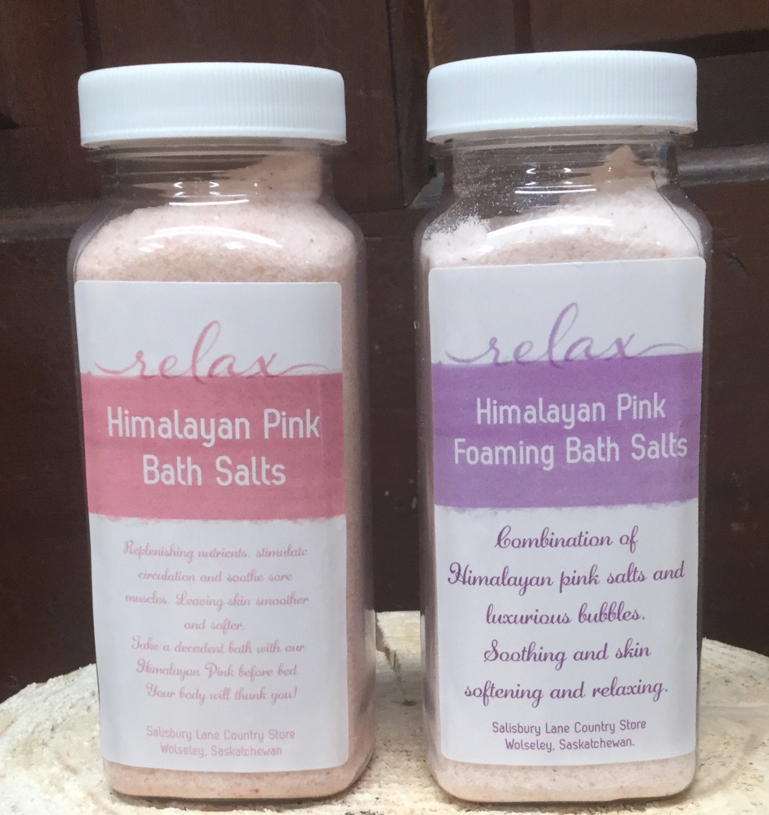 "Image of ""Relax"" Bath salts"
