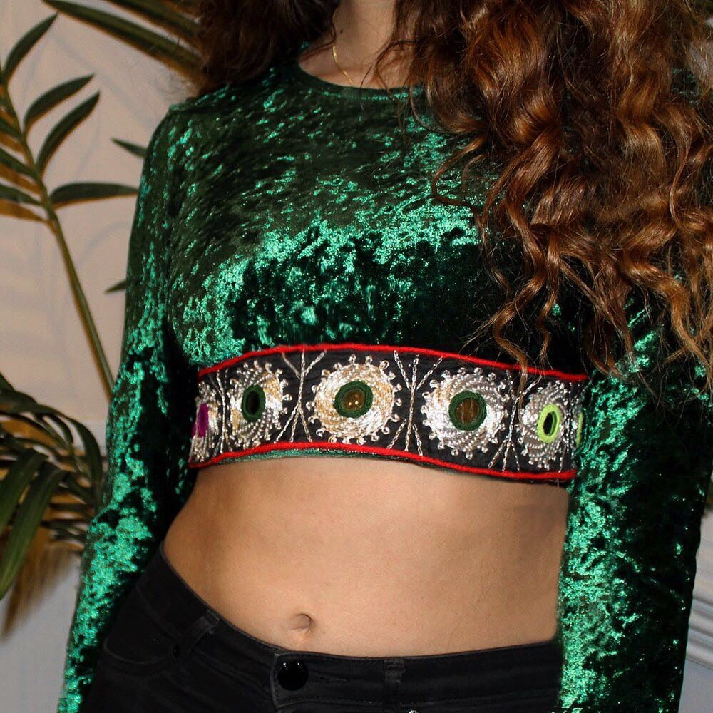 Image of Duniyah Crop Top