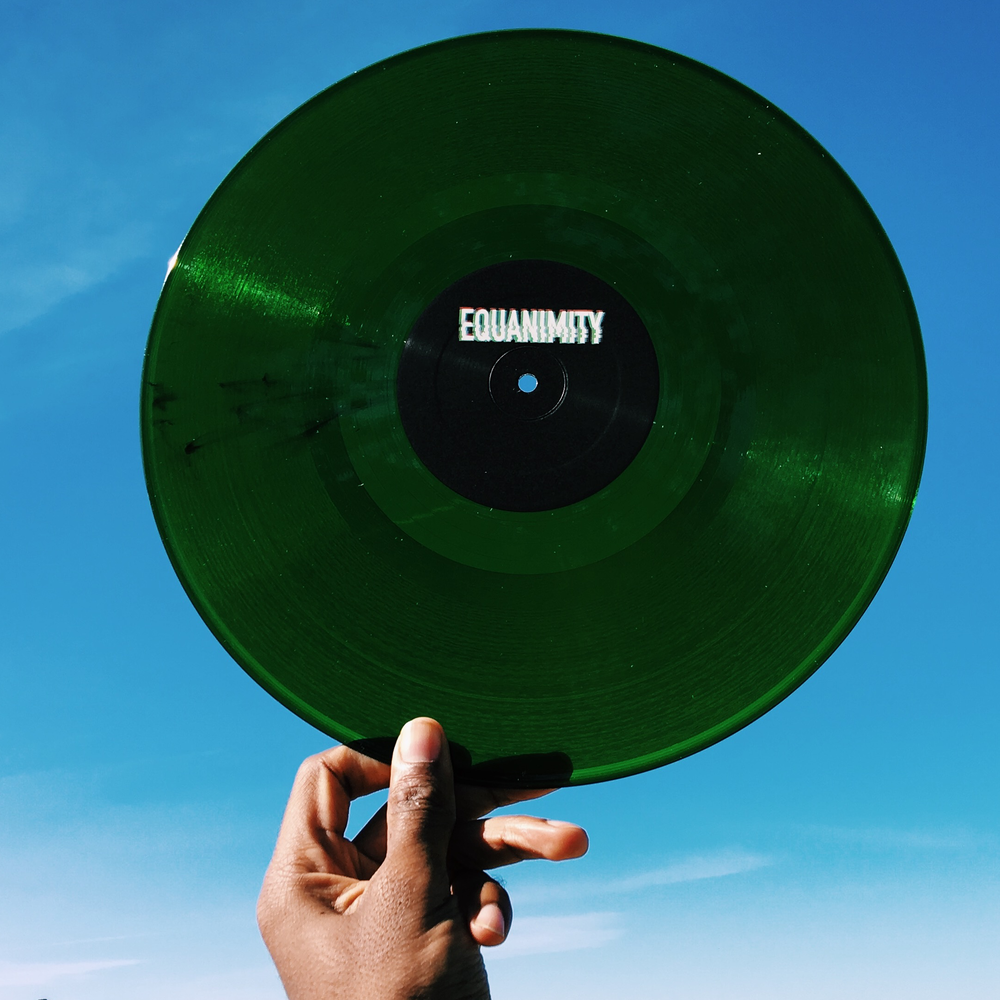 Image of Kyle Hall - Equanimity (limited Emerald Vinyl)