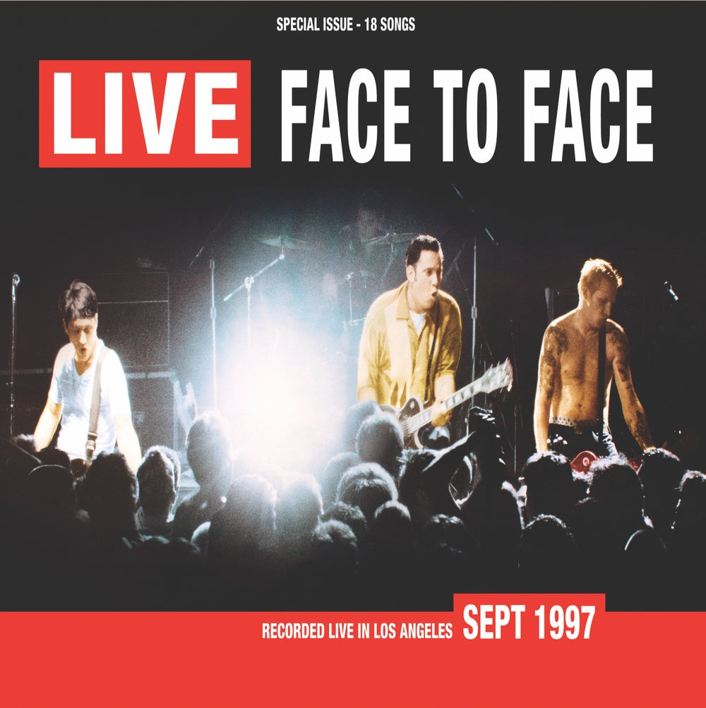 Image of face to face - Live  (2x LP)