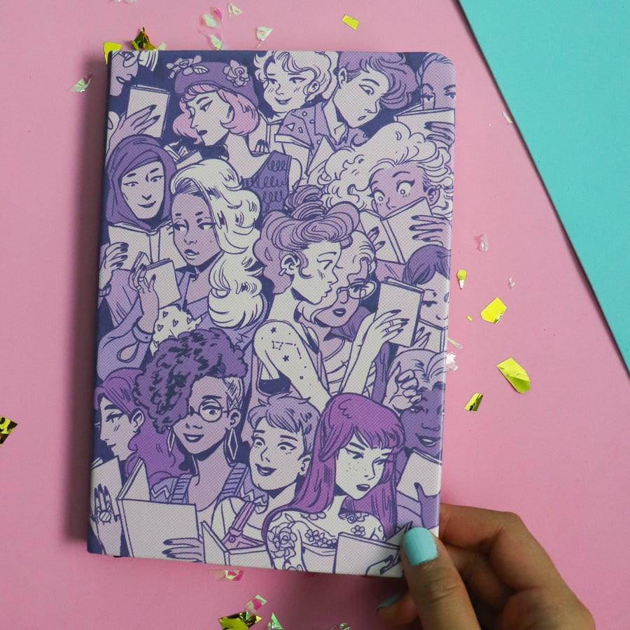 Image of Reading Girls Bullet Journal