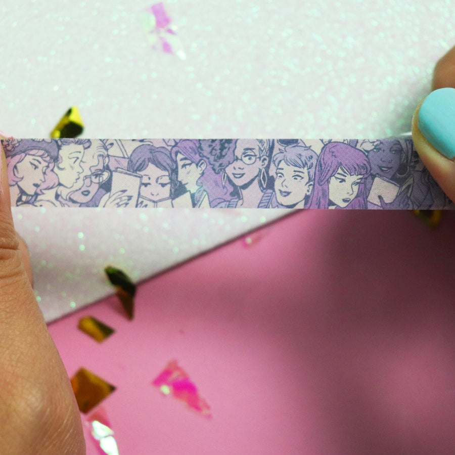 Image of Reading Girls Washi Tape