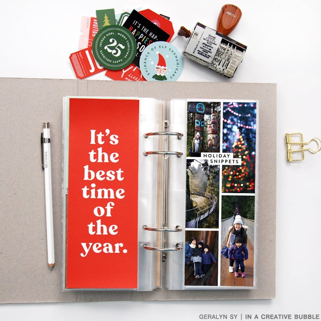 Image of 3x8 'Tis the Season Journaling Cards (Digital)