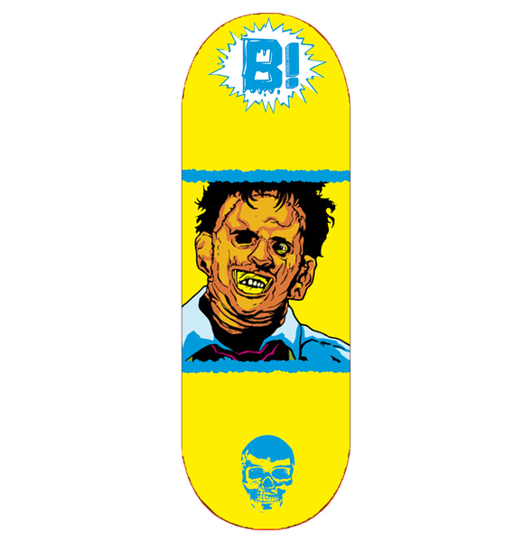 "Image of ""LEATHERFACE DIGI"" DECK"