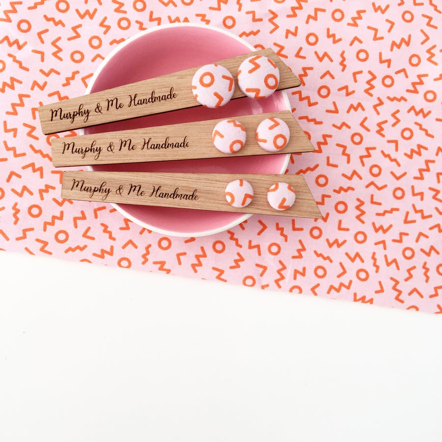 Image of 'Think Pink' Fizzy Pop Studs