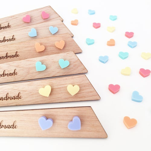 Image of Mini Pastel Hearts