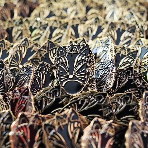 Image of SAD ANBU HARD ENAMEL PIN