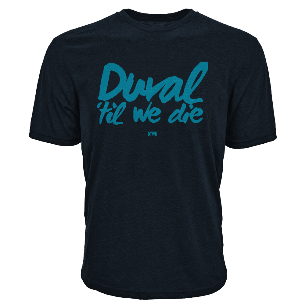 Image of Duval Til We Die - BLK