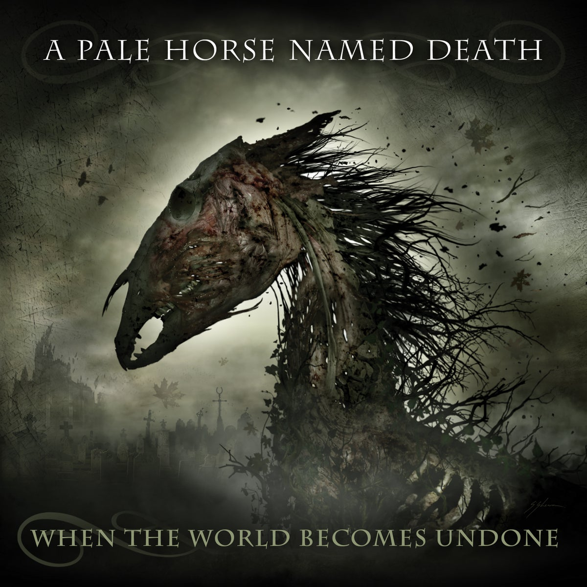 "Image of A Pale Horse Named Death ""When The World Becomes Undone"" CD"