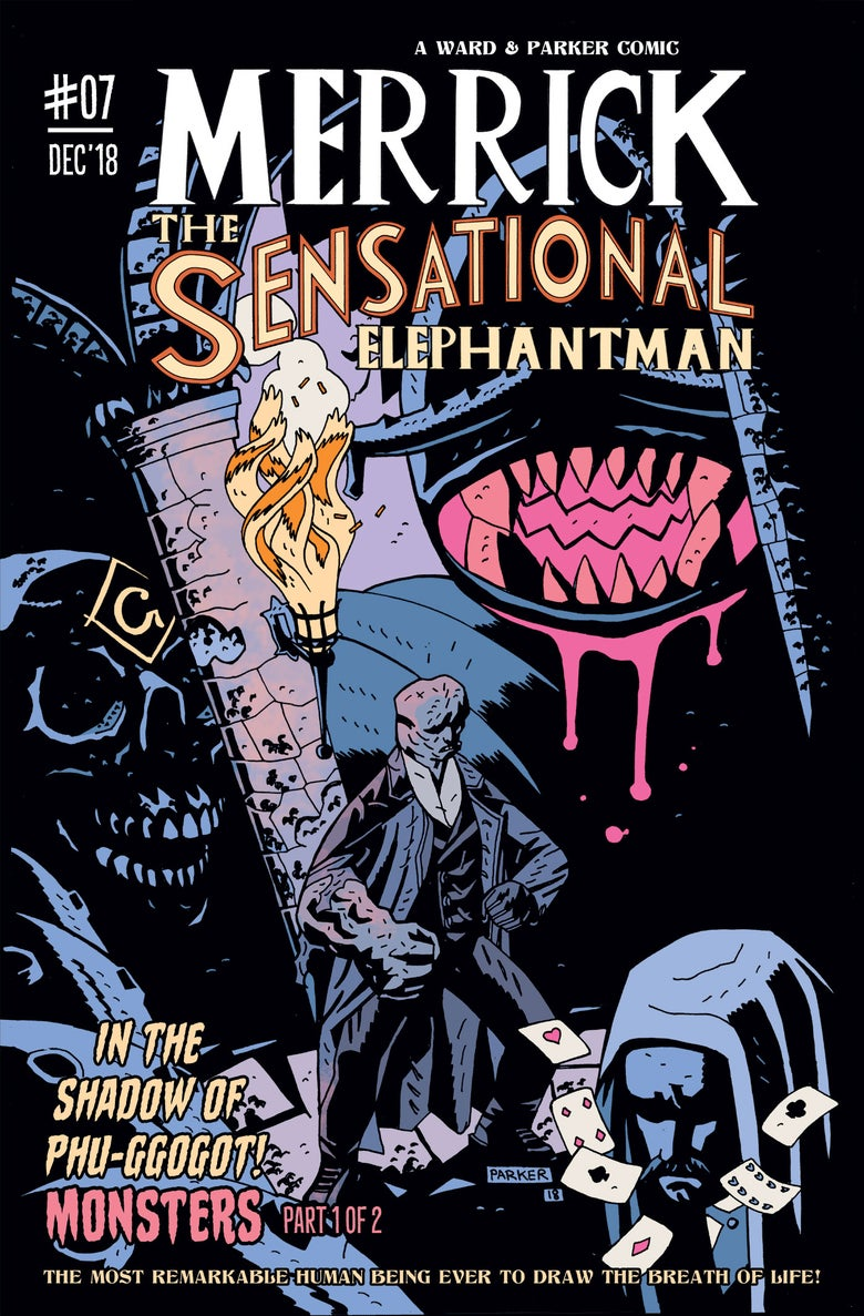 Image of Merrick: The Sensational Elephantman #07 (PHYSICAL)