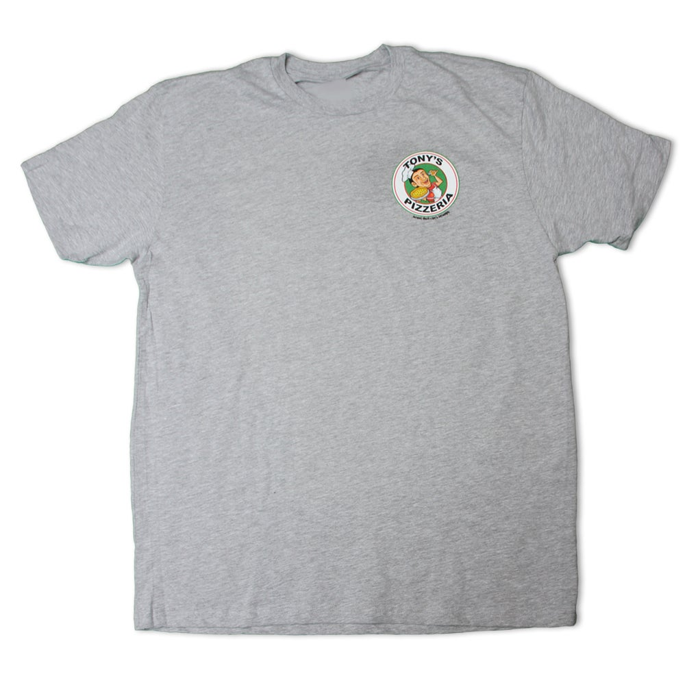 Image of Tony Pizza Tee (Gray)