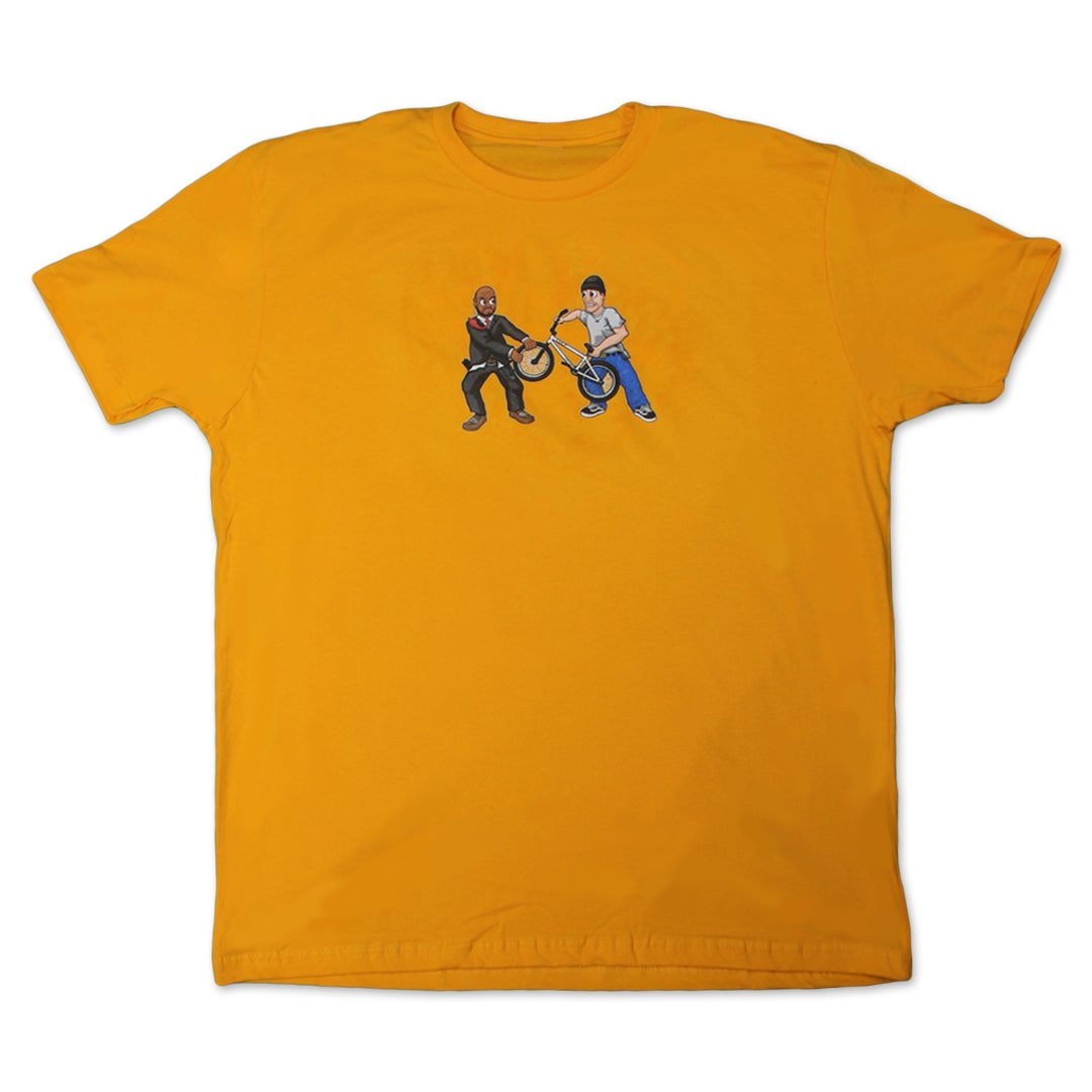 Image of F*ck Security Tee (Gold)