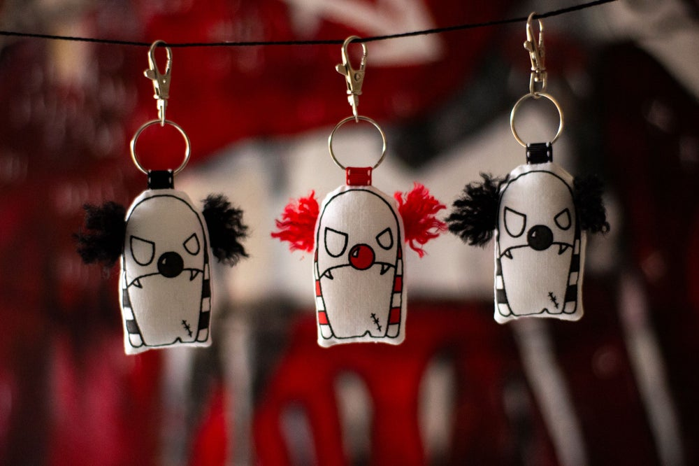 Image of Clown flavoured dangly things