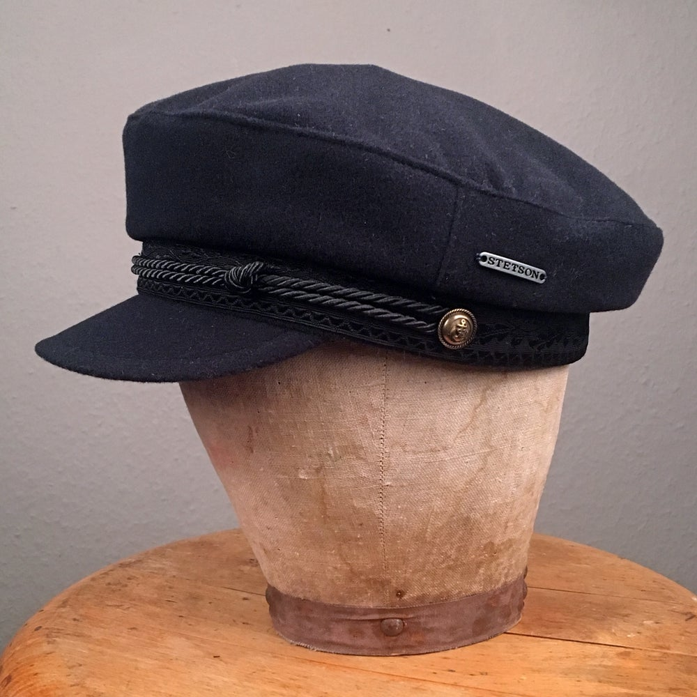 Image of STETSON RIDERS CAP FISHERMAN