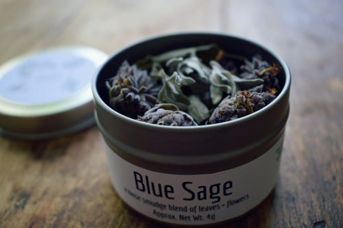 Image of Blue Sage Loose Smudge