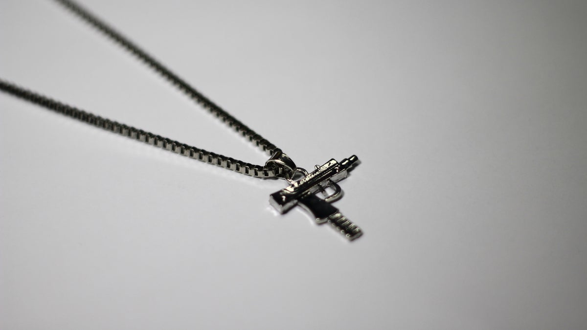 Image of Silver Uzi Chain