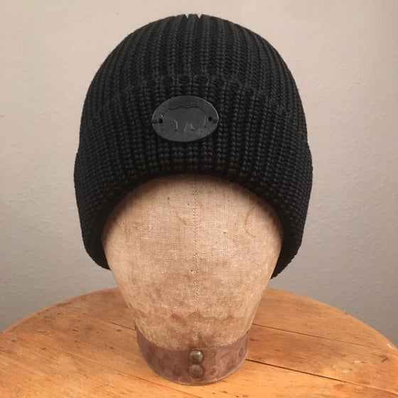 Image of ONDURA WOOL BEANIE BLACK