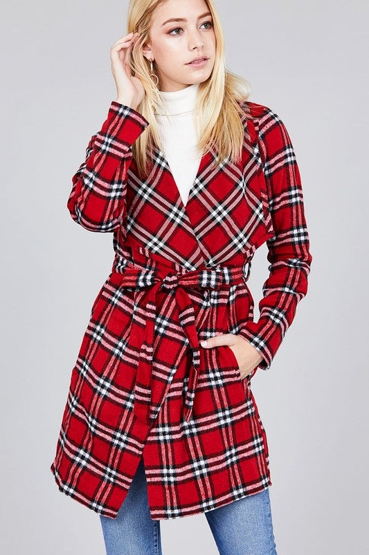 Image of Red Plaid Jacket