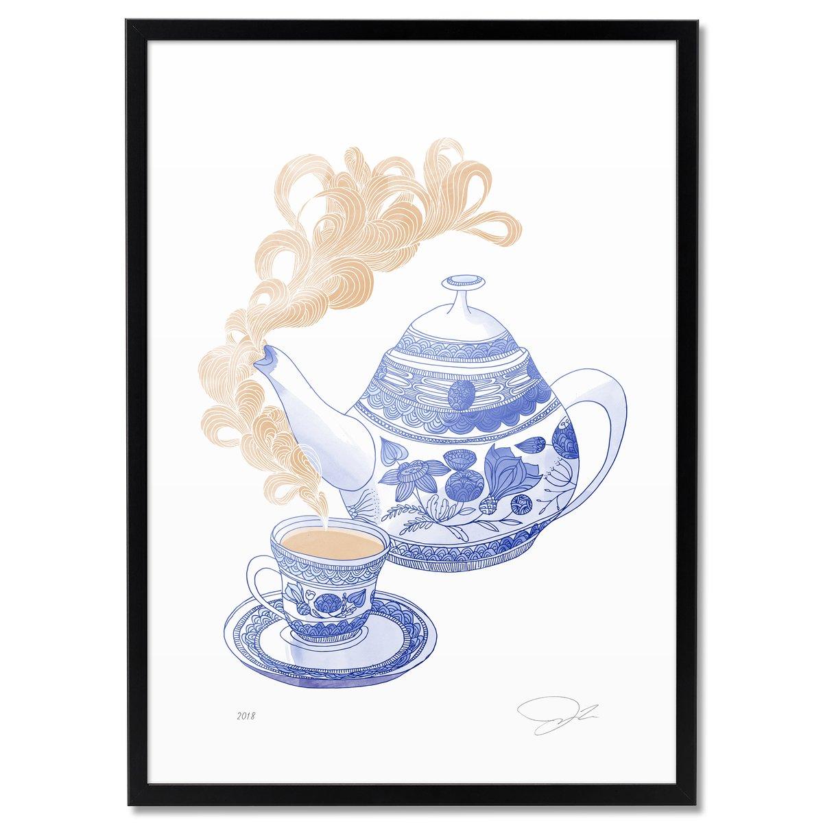 Image of Print: Teatime