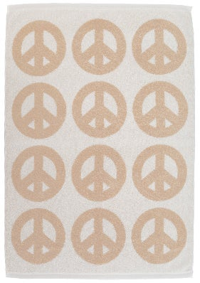 Image of Mini Peace Towel <div> Cream & Scour</div>