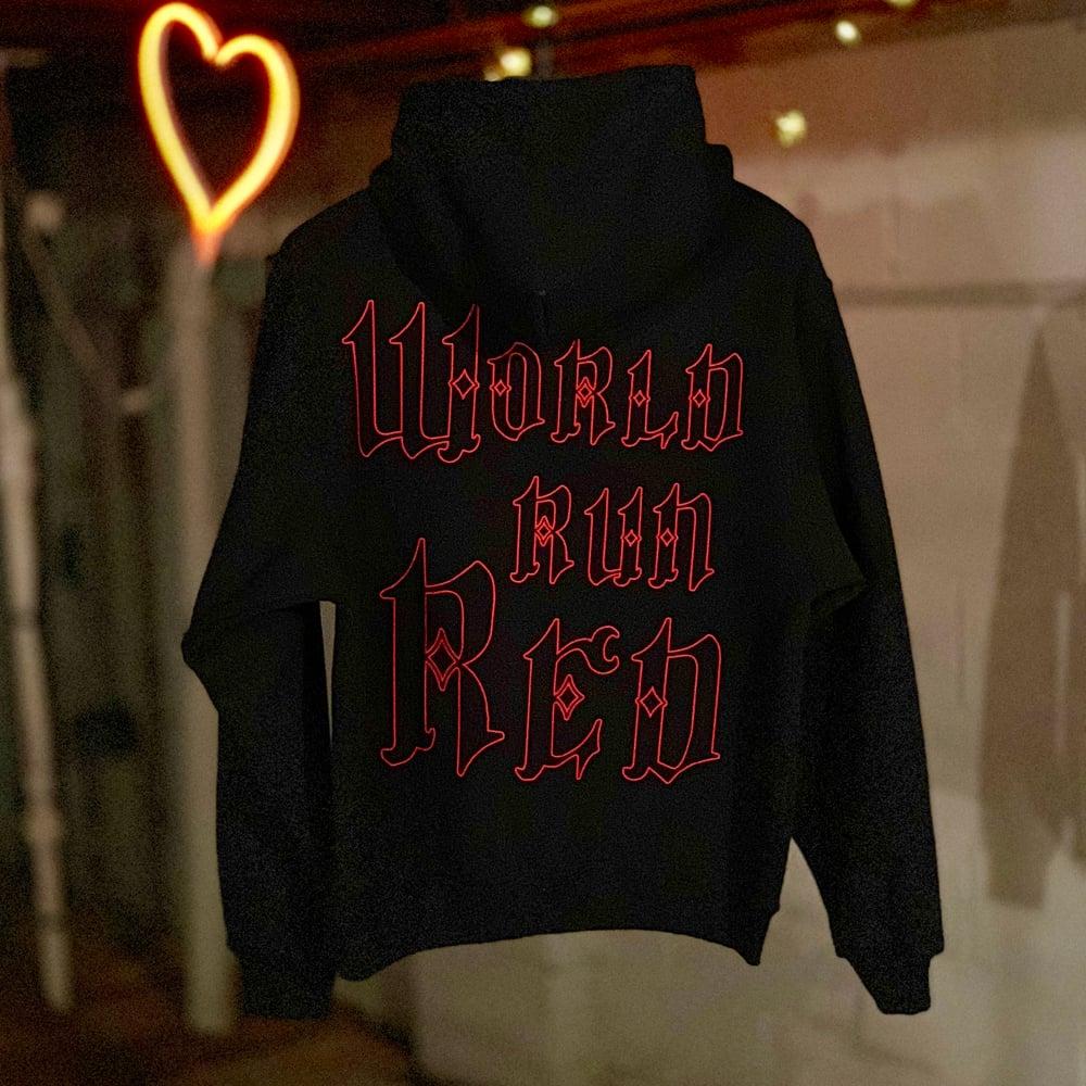 Image of red hoodie
