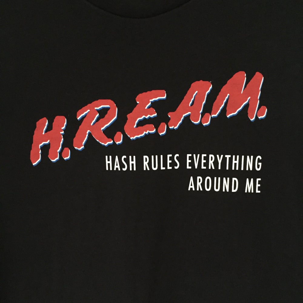 Image of Black HREAM T-Shirt