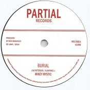 "Image of Mikey Mystic/Manasseh - Burial (7"" vinyl 90s roots reissue)"