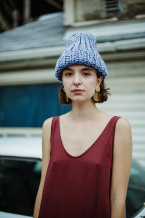 Image of Kenora Toque (shown in Stonewashed Denim)