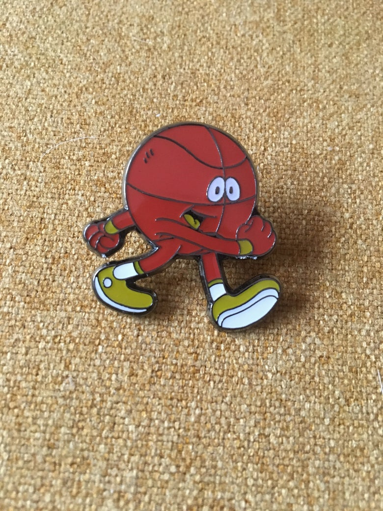 Image of Little Basketball Pins (last batch of this design)