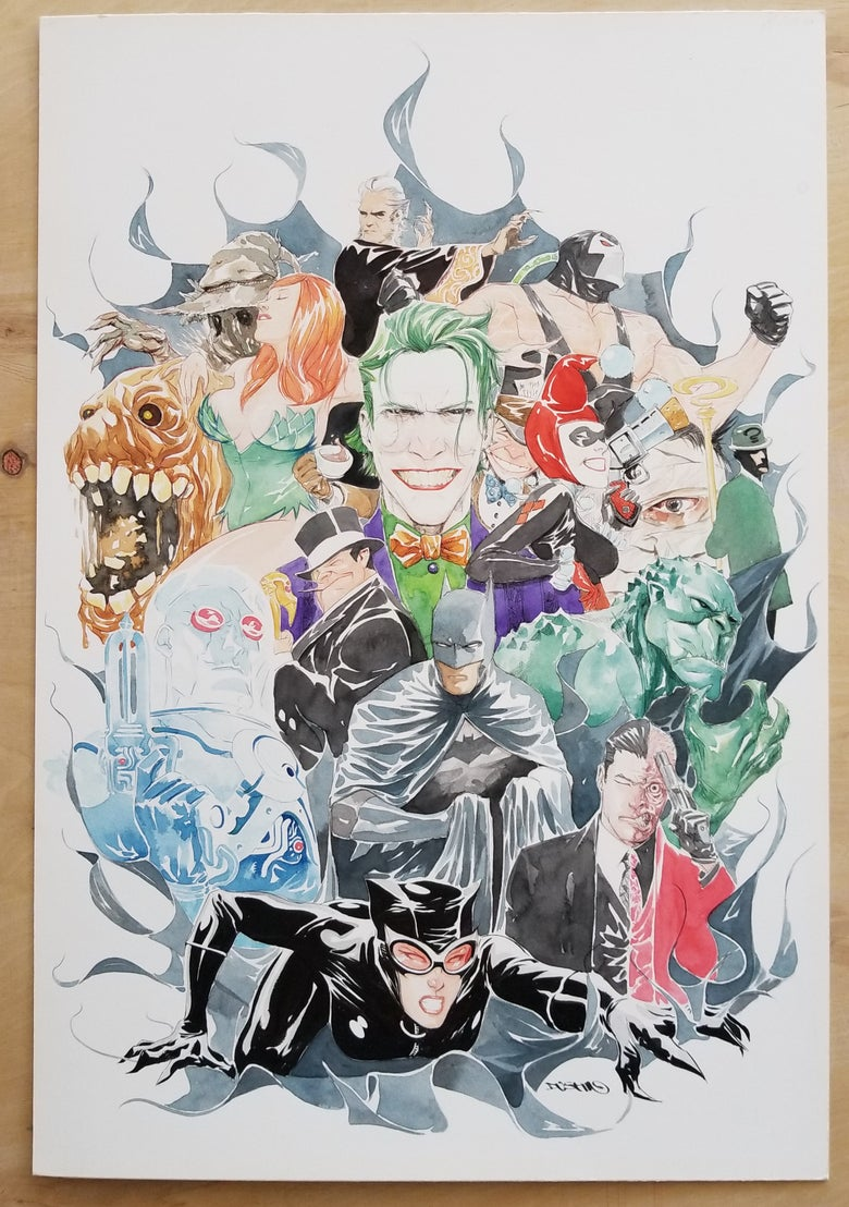 Image of Batman 80 Page Giant original cover