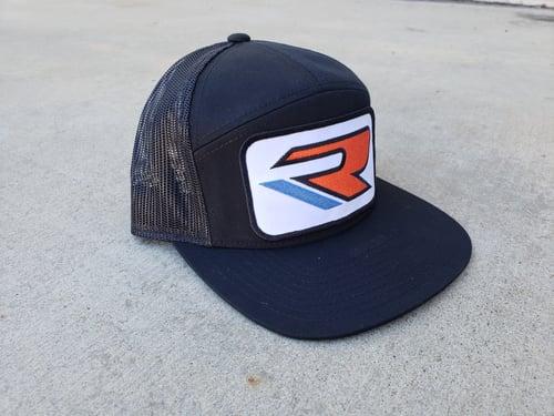 Image of Old School GSXR 'Slingshot' Trucker Hat - White/Blue