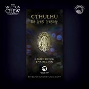 Image of The Skelton Crew Collection: Limited Edition Cthulhu pin! MONSTER FLASH SALE!
