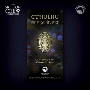 Image of The Skelton Crew Collection: Limited Edition Cthulhu pin