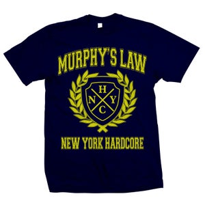 """Image of MURPHY'S LAW """"NYHC Crest"""" T-Shirt"""