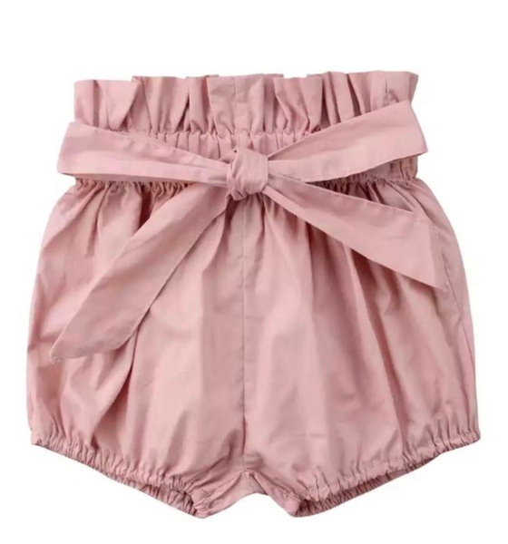 Image of High Waisted Shorts - Pink