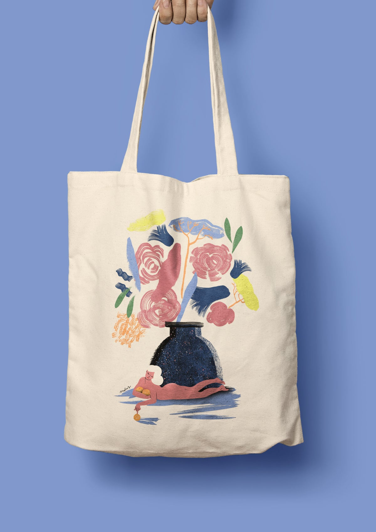 Image of THE WINTER TOTEBAG