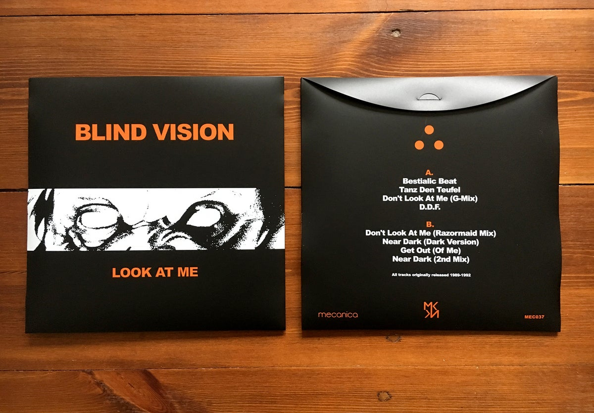 Image of Blind Vision - Look At Me LP