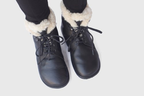 Image of Wren - Lace up winter boots