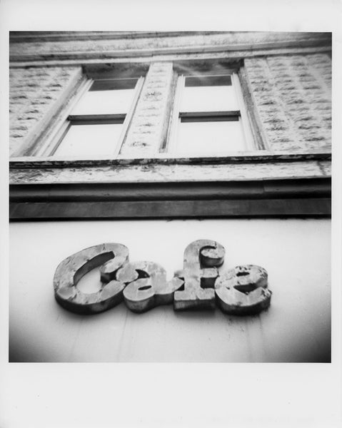 Image of Cafe - Toy Camera 8x10 Darkroom Print