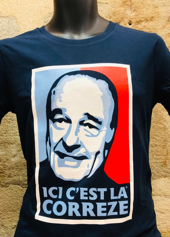 Image of T-Shirt Chirac Bleu Blanc Rouge