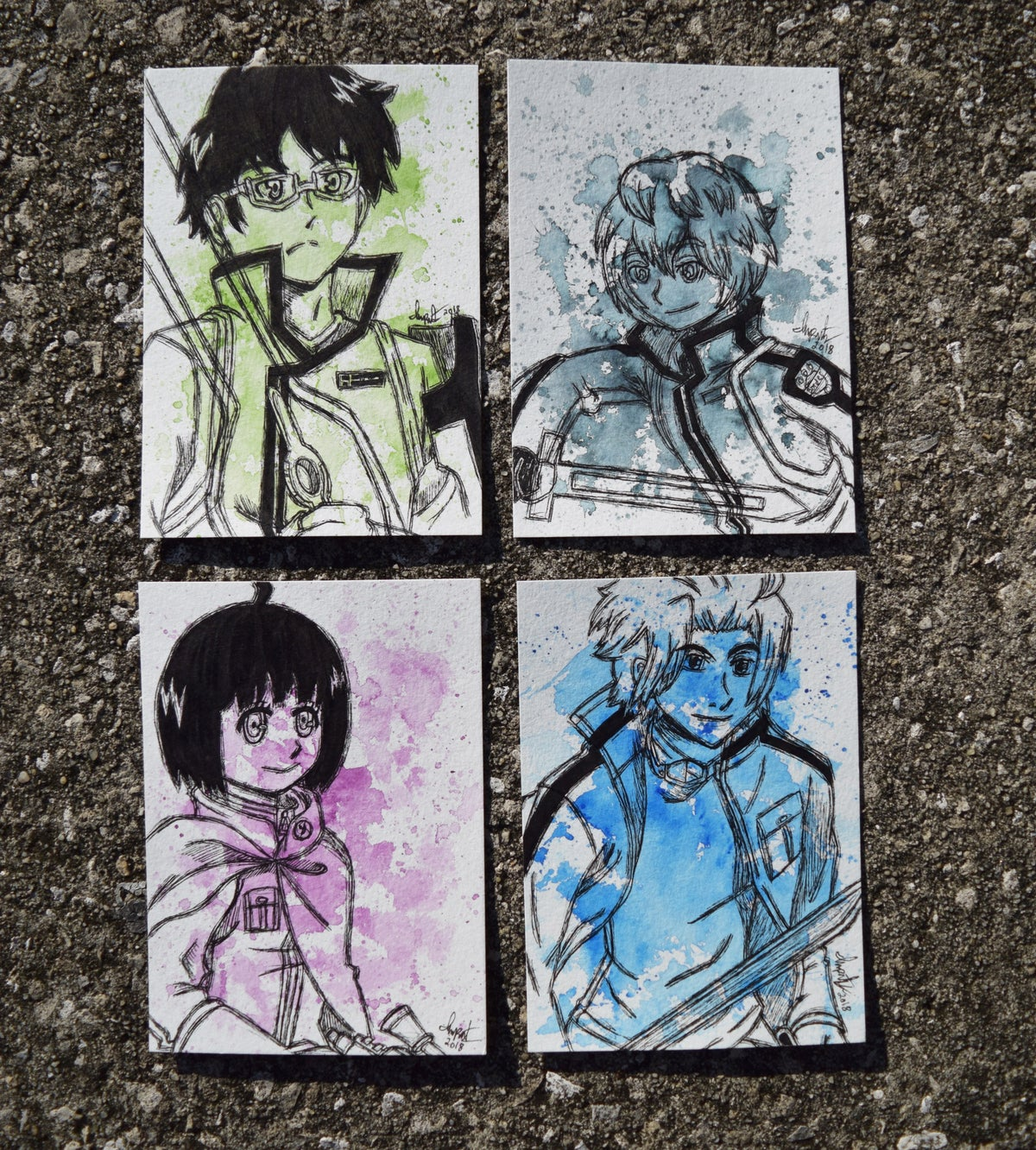 Image of World Trigger Character Set