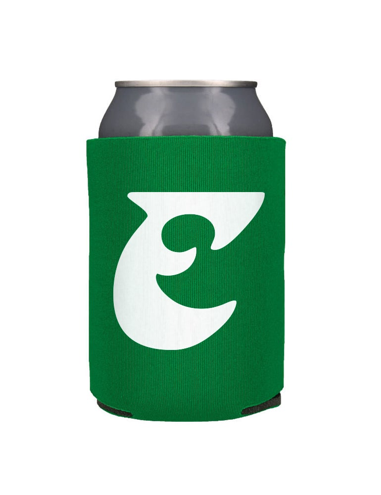 Image of Old School E Beer Koozie