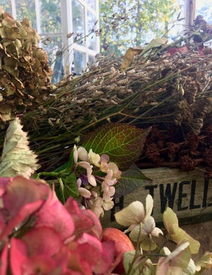 Image of Autumn Dried Flower Workshop